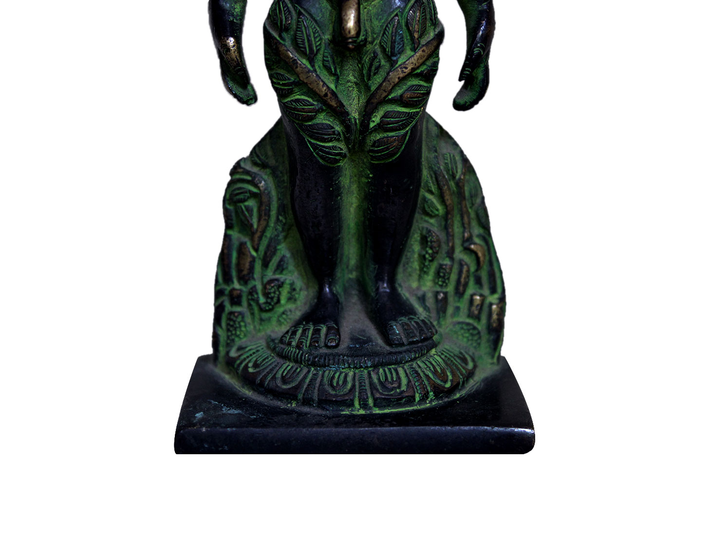 Brass Mahavira (Ht-5.9 Inches)