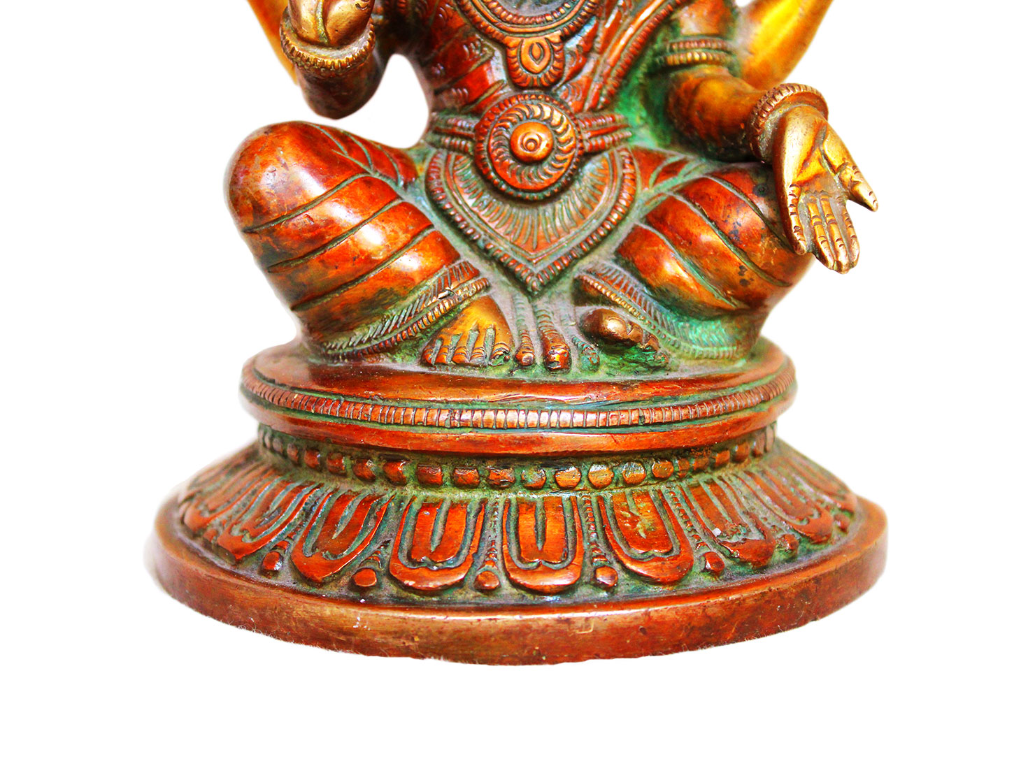 Brass Laxmi (Ht-7.9 Inches)