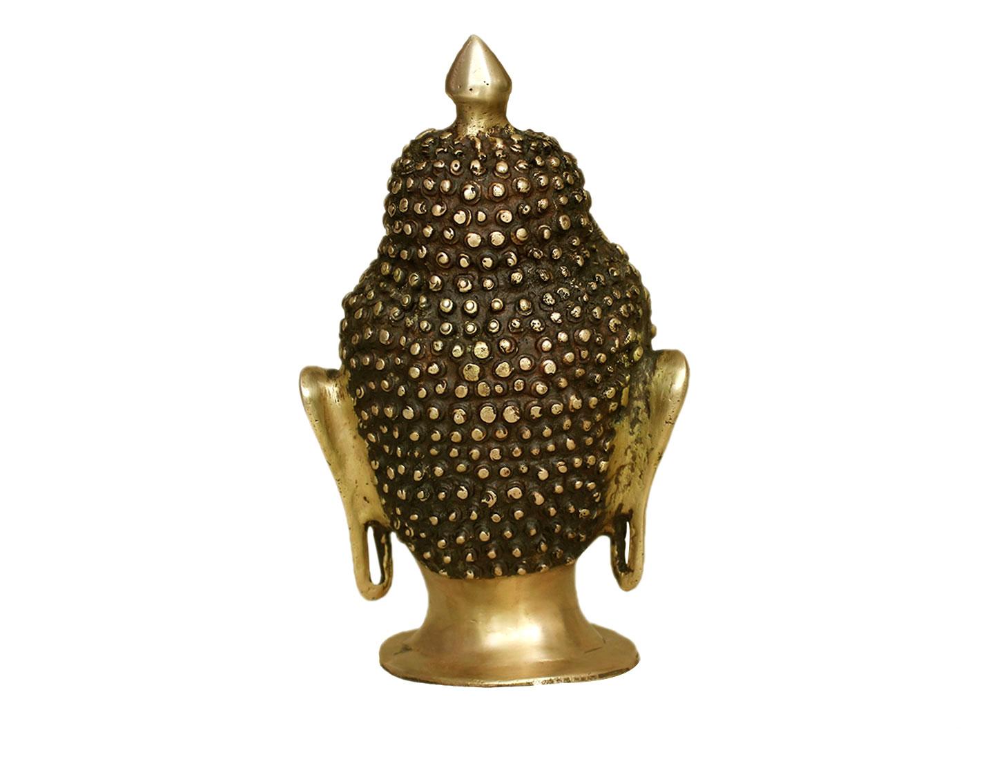 Brass Buddha (Ht-9.8 Inches)