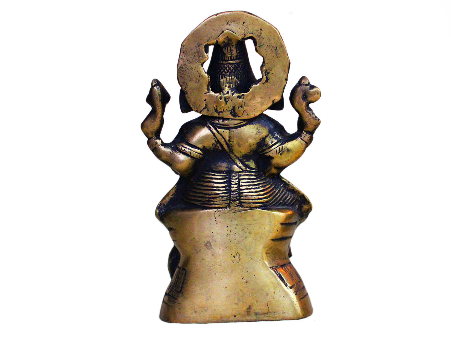 Brass Ganesha (Ht- 9 Inches)