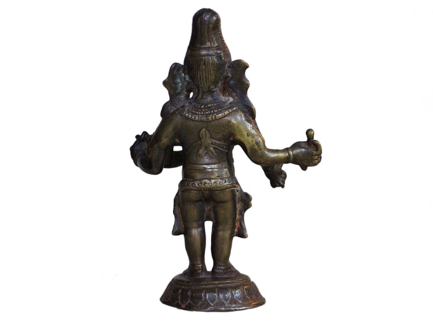 Brass Ganesha (Ht- 7.7 Inches)