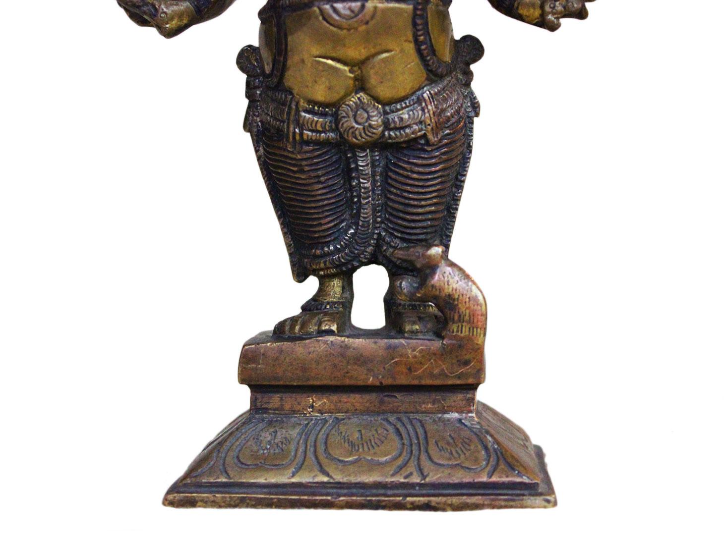 Brass Ganesha (Ht- 11 Inches)