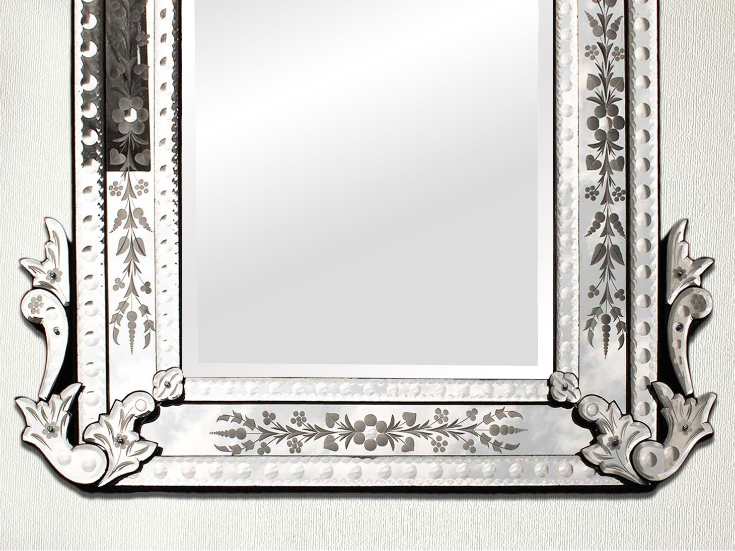 Long Venetian Mirror-48.5 inches X 30 inches