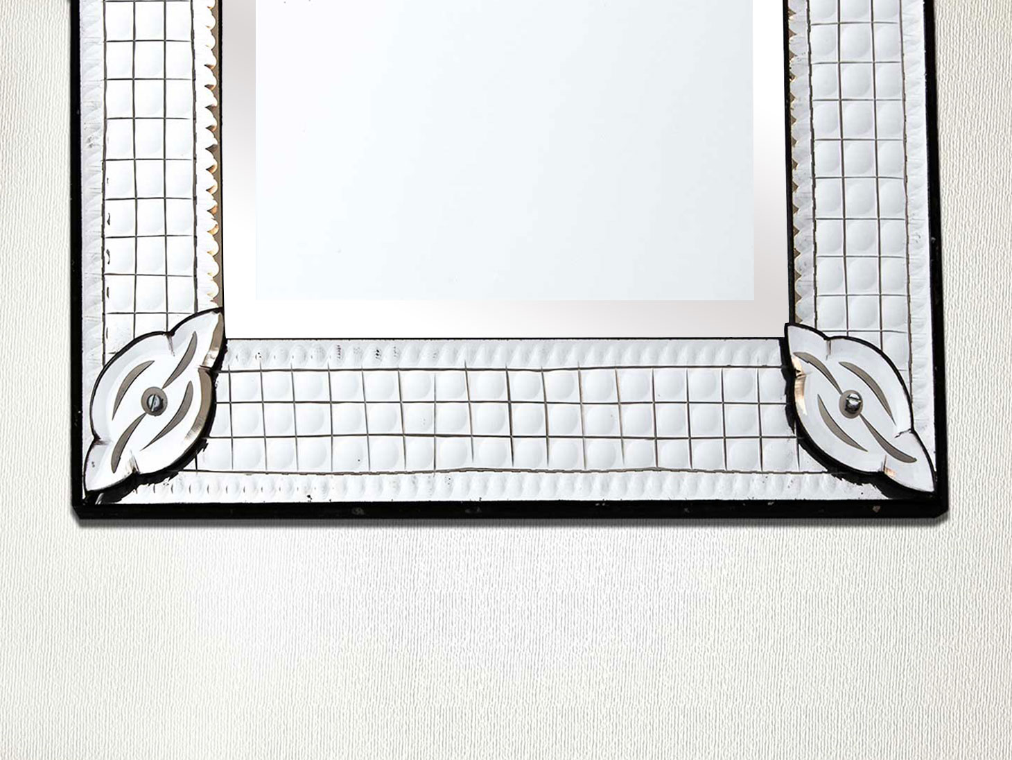 Long Venetian Mirror-25. inches X 12.5 inches