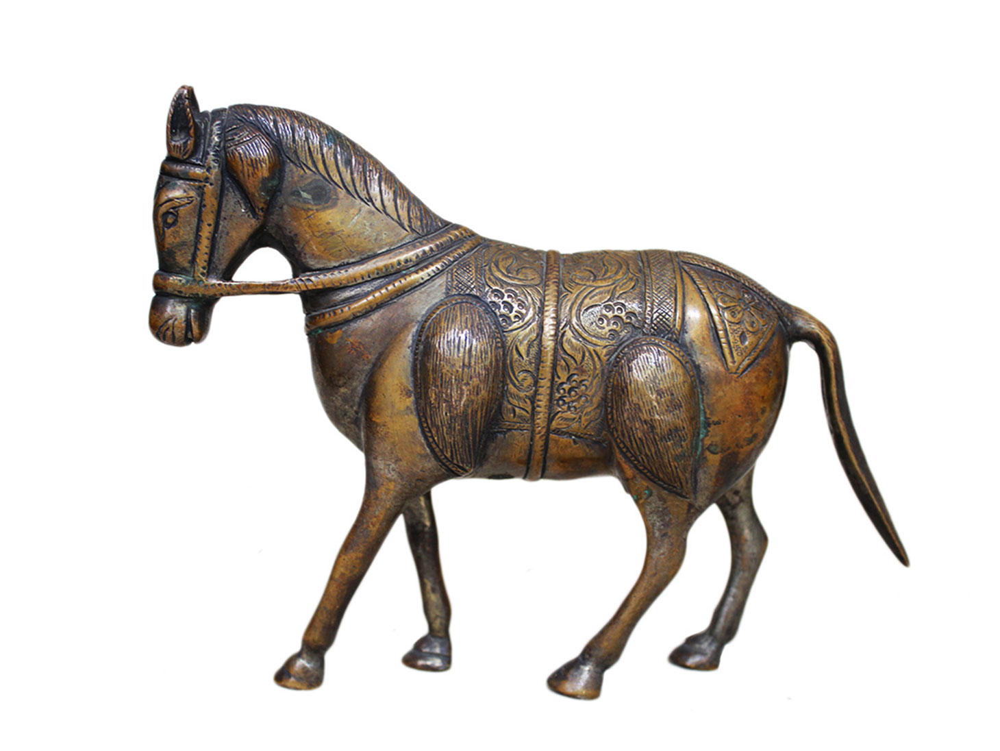 Brass Horse Ht-6.1 Inches
