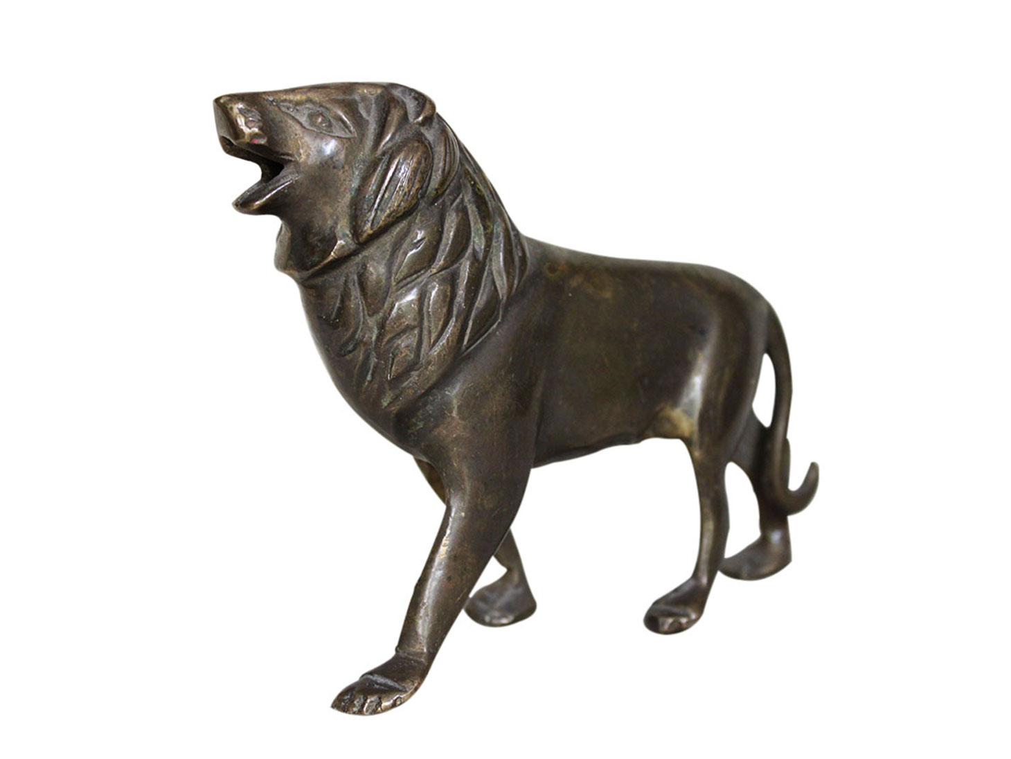 Brass Lion Ht-4.3 Inches