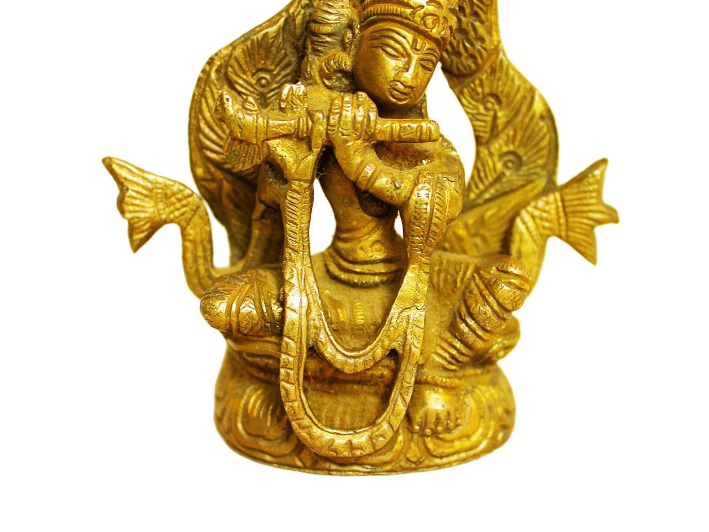 Brass Krishna (Ht-4.5 Inches)