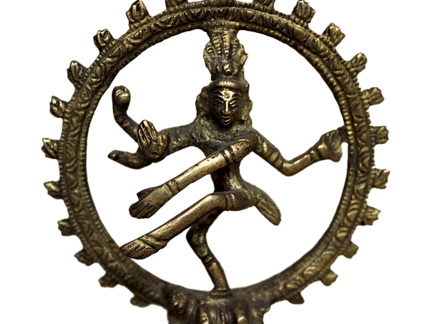 Brass Natraj (Ht-3.9 Inches)