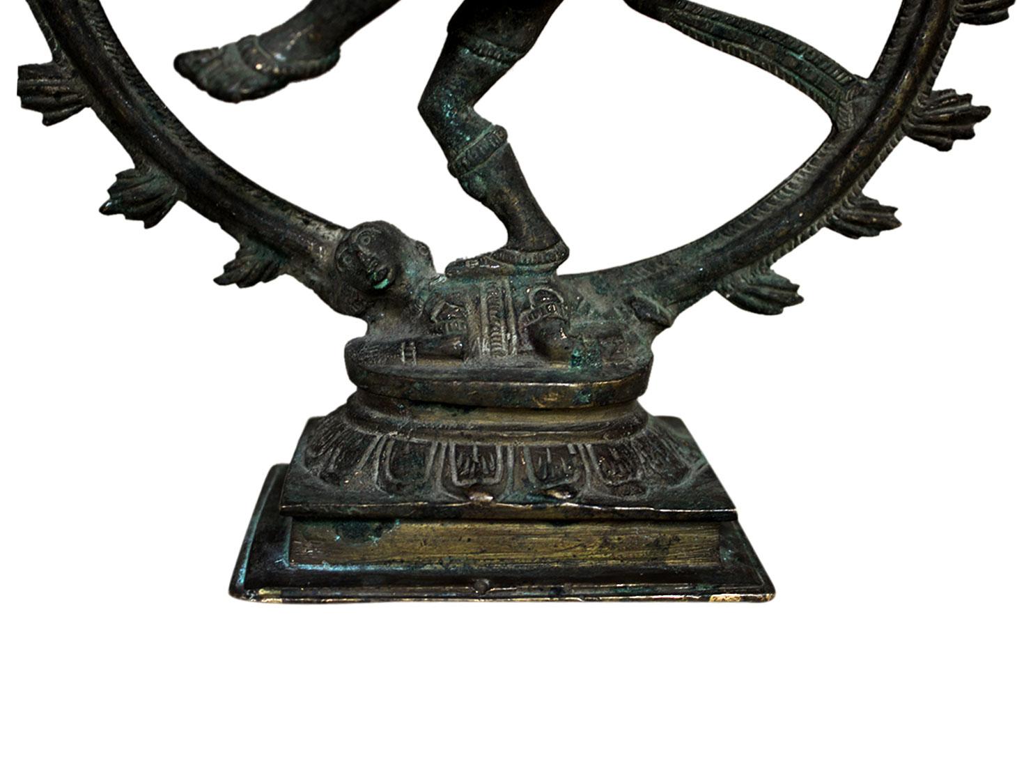 Brass Natraj (Ht-11.2 Inches)