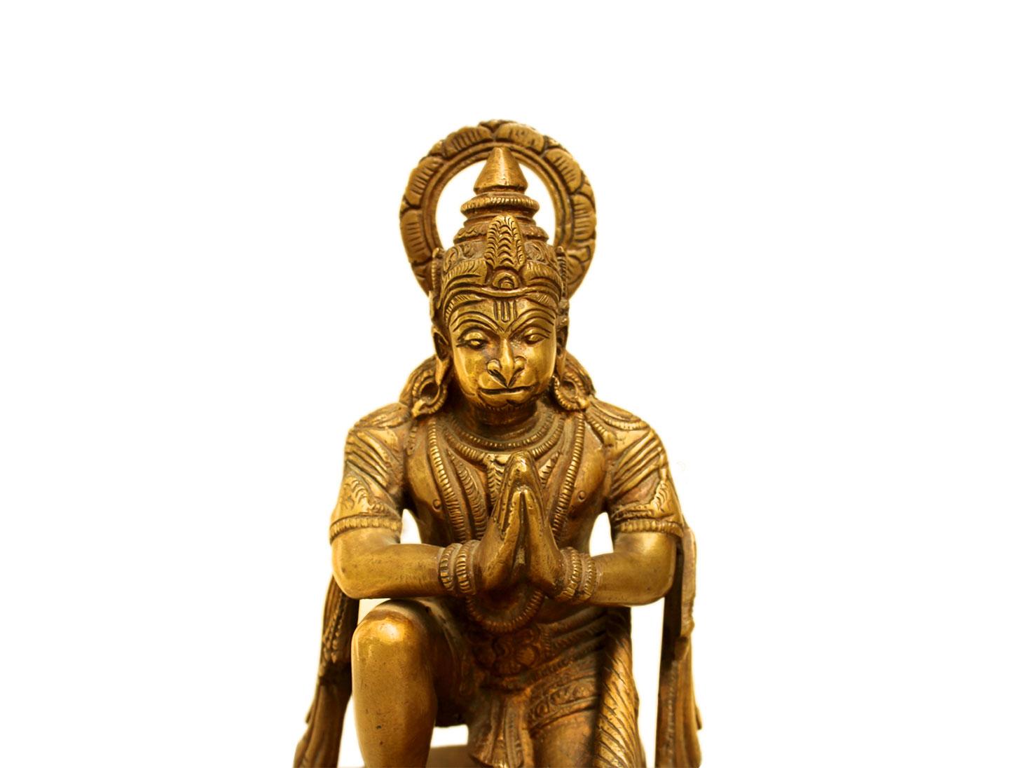Brass Hanuman (Ht-8.5 Inches)