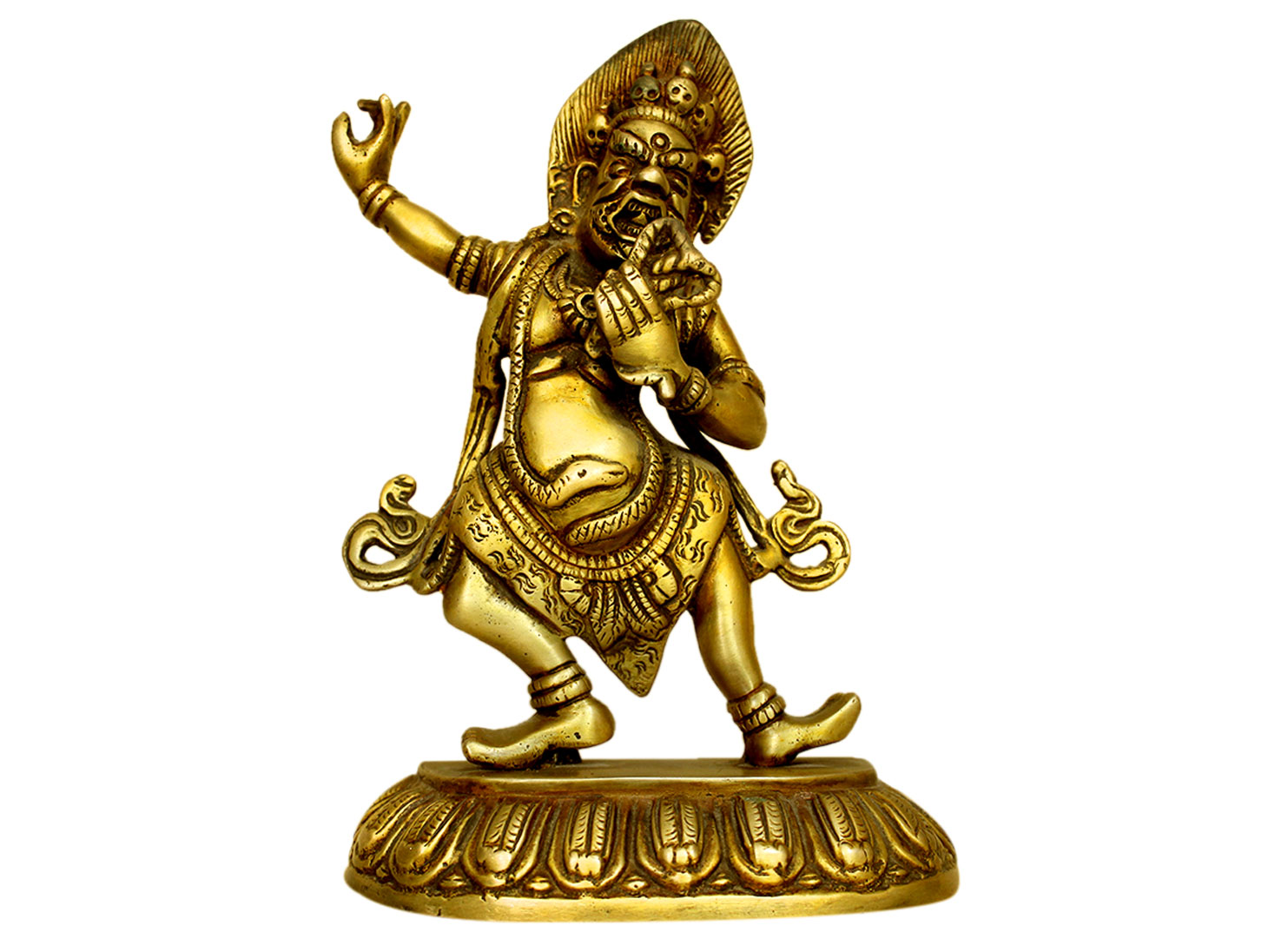 Brass Shiva (Ht-8.25 Inches)