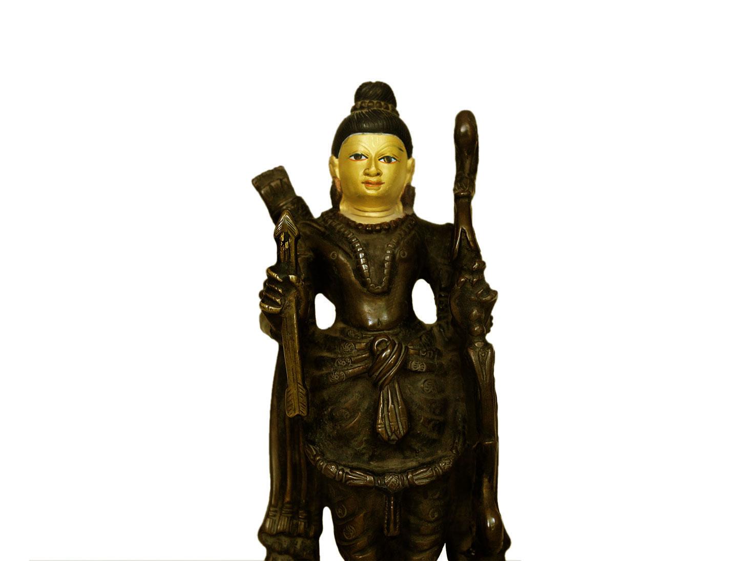 Brass Ram (Ht-7.9 Inches)