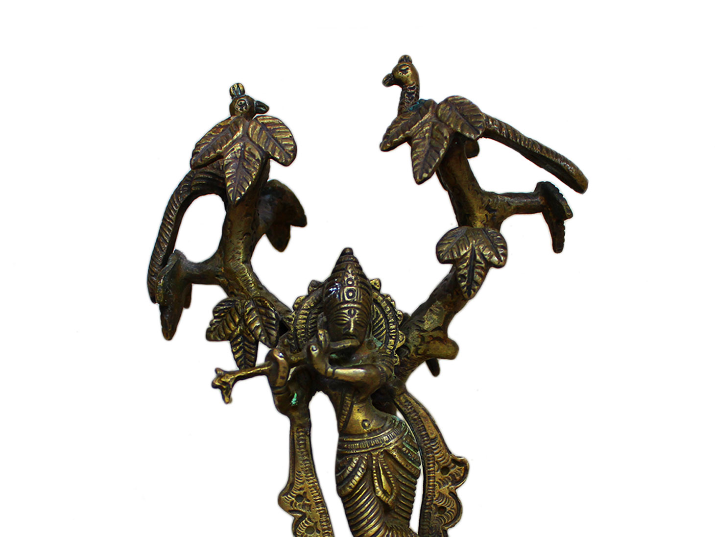 Brass Krishna (Ht-7.9 Inches)