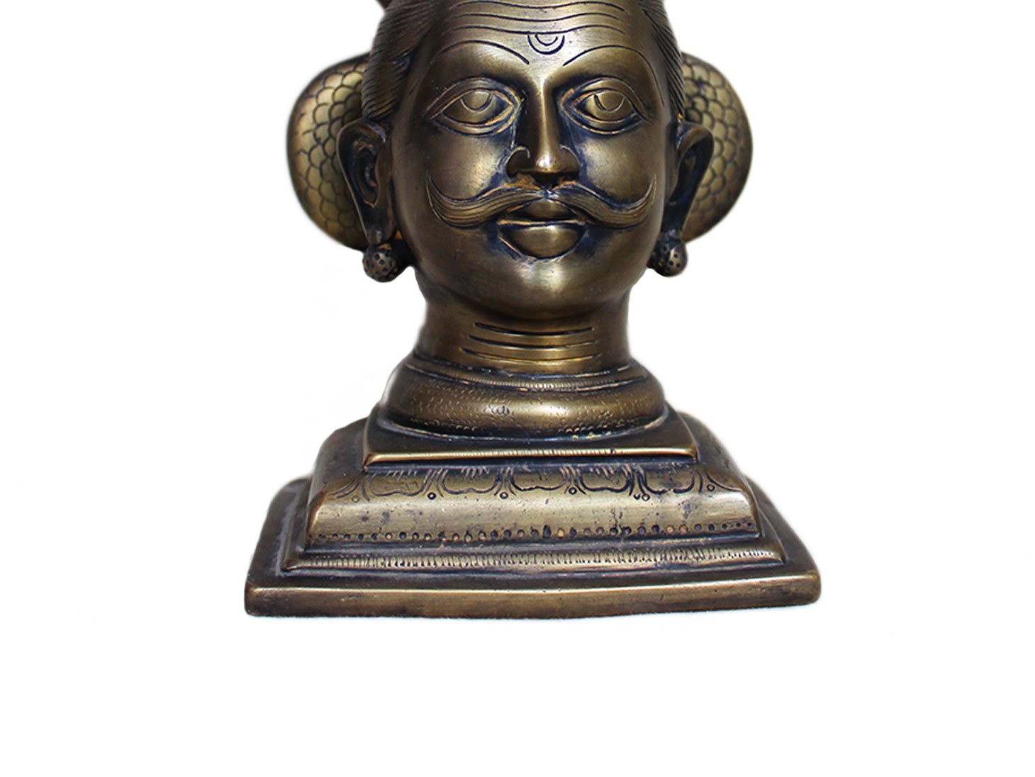 Brass Shiva (Ht-9.5 Inches)