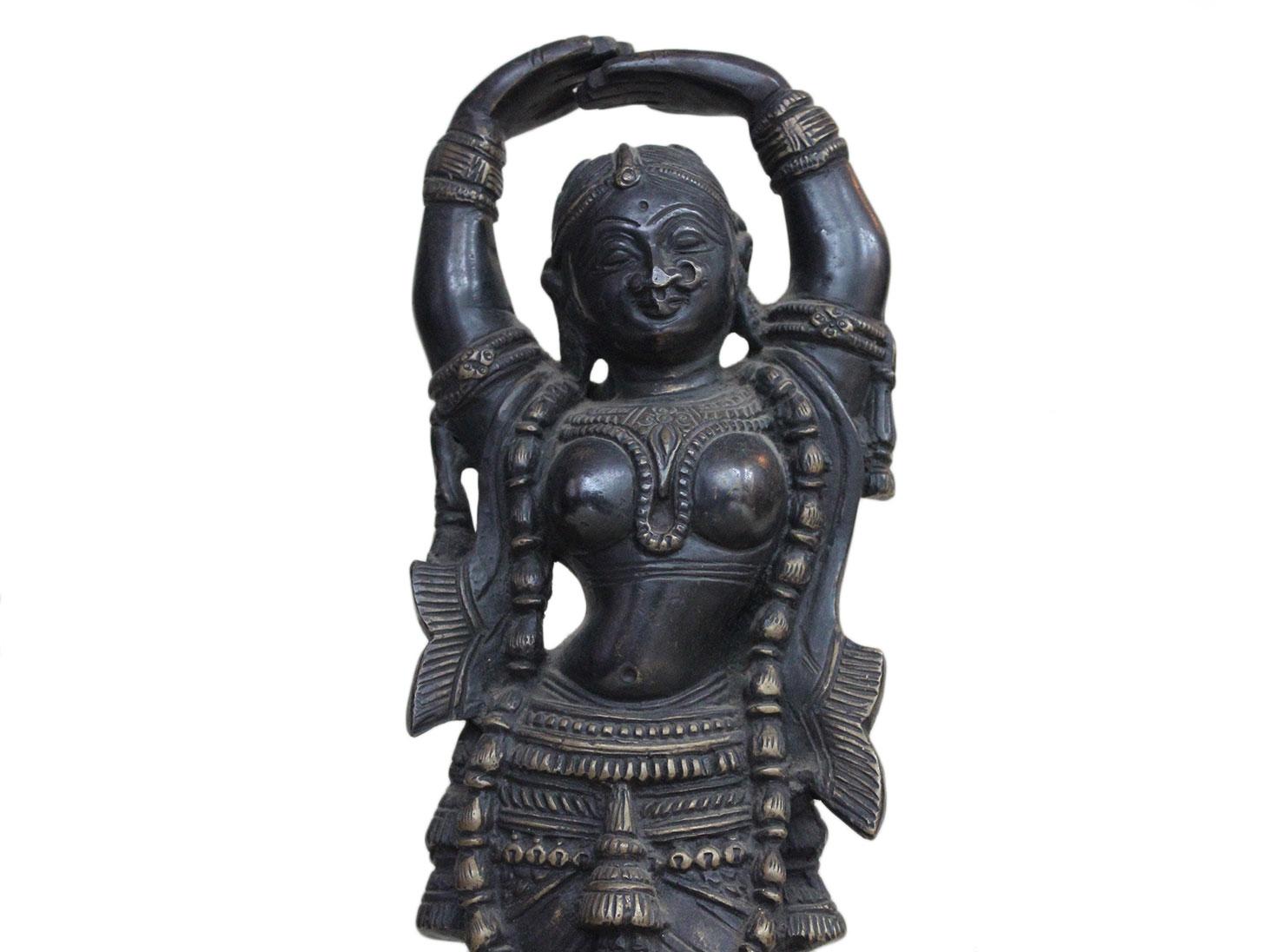 Brass Radha (Ht-11.8 Inches)