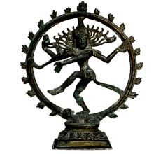 Brass Natraj (Ht-11.2 Inches)