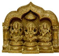 Ganesh Laxmi Saraswati (8.7 Inches)