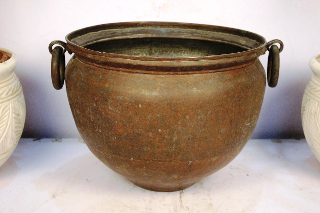 Bronze Planter-12.25 X 19 Inches