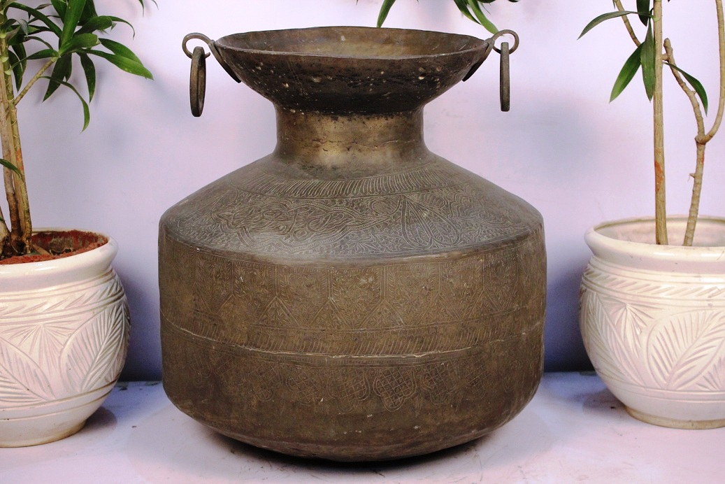 Bronze Planter-21.25 X 21.25 Inches