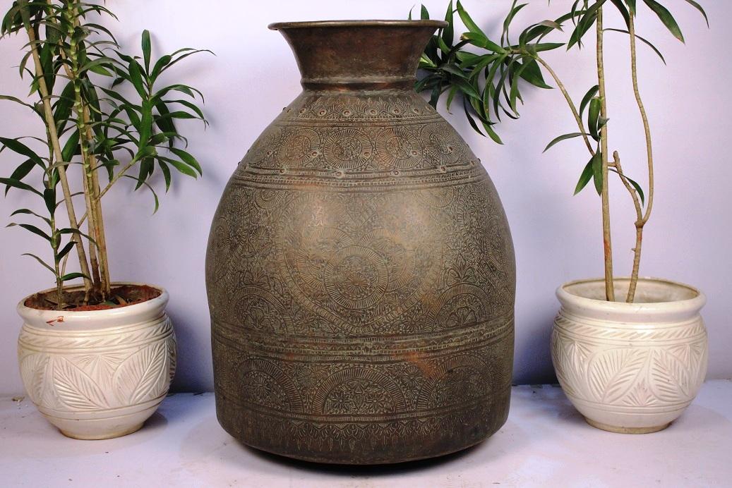 Bronze Planter-29.5 X 22.75 Inches