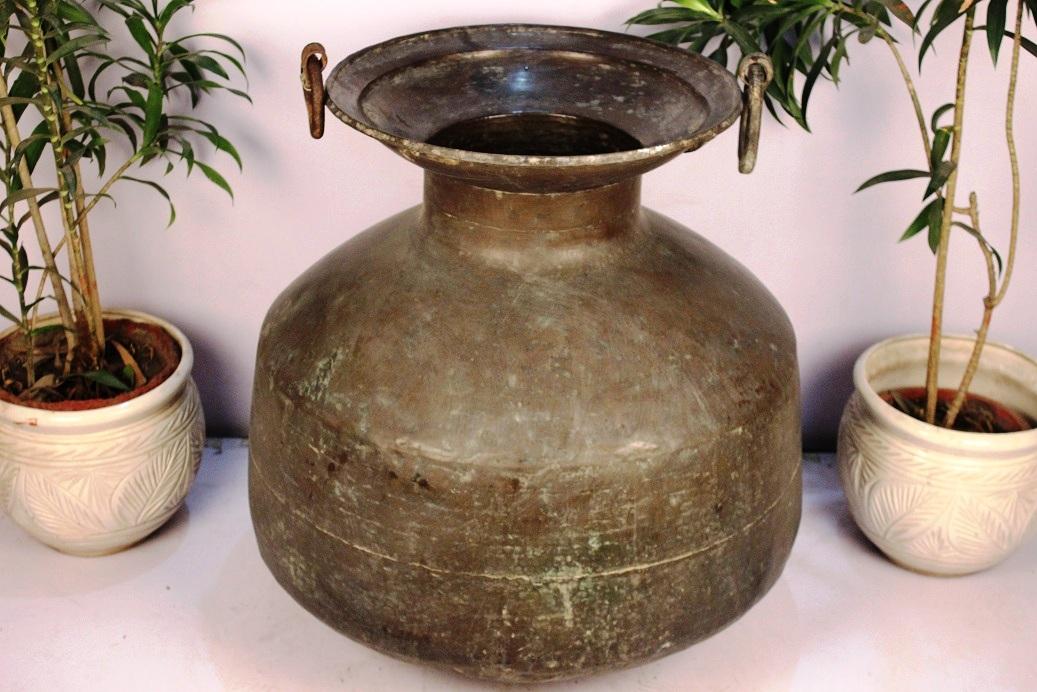 Bronze Planter-28.25 X 26.75 Inches