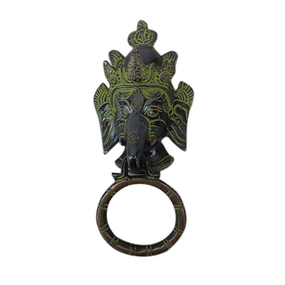 Antique Ganesha Door Knocker-1