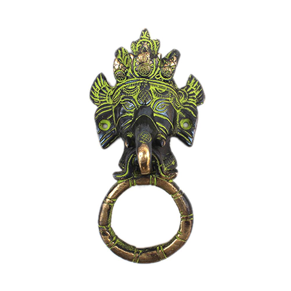Antique Ganesha Door Knocker-2