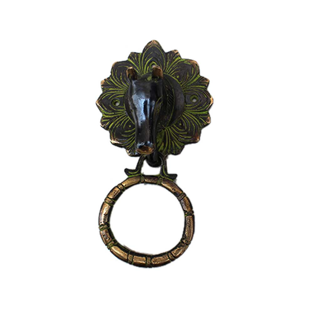 Antique Horse Door Knocker