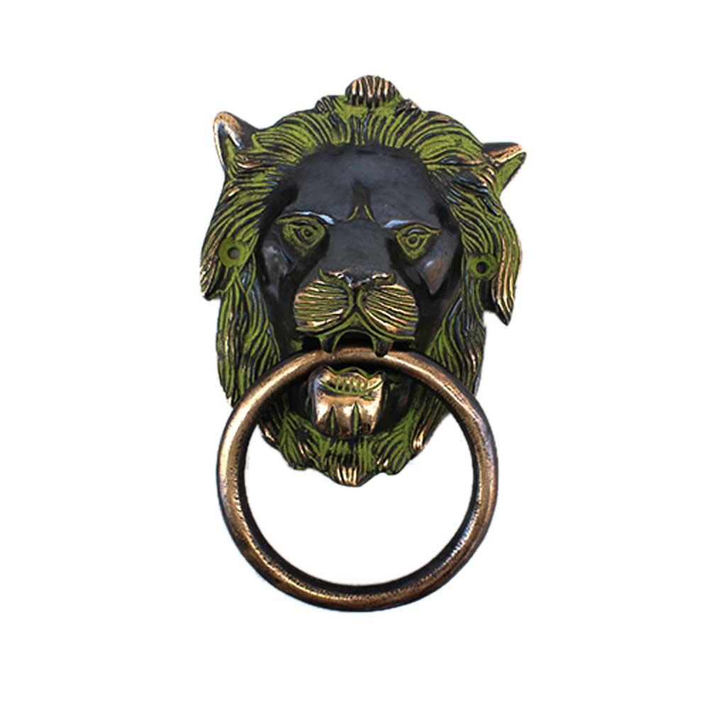 Antique Lion Door Knocker-1