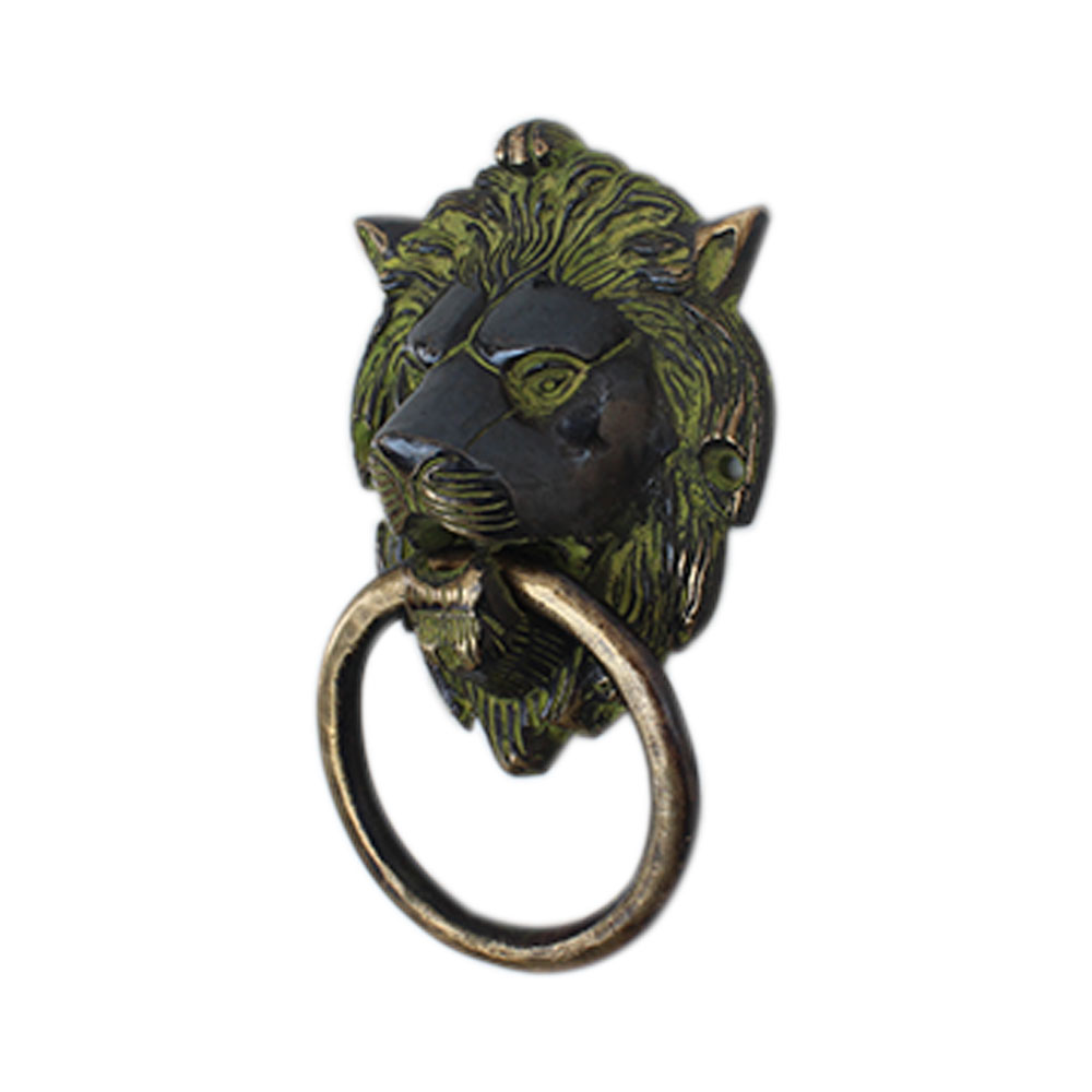 Antique Lion Door Knocker-2