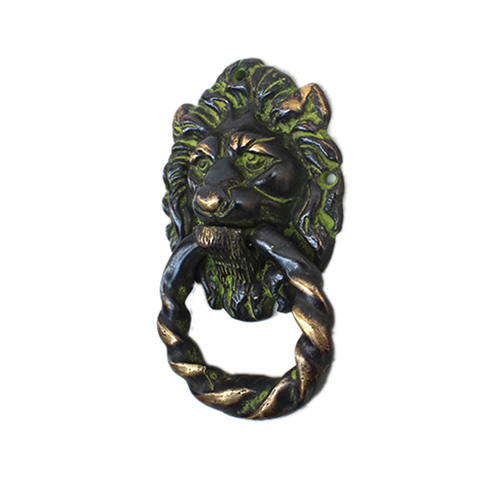 Antique Lion Door Knocker-4