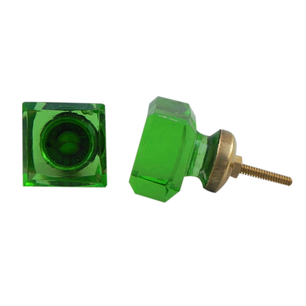 Green Square Cabinet Knobs Online
