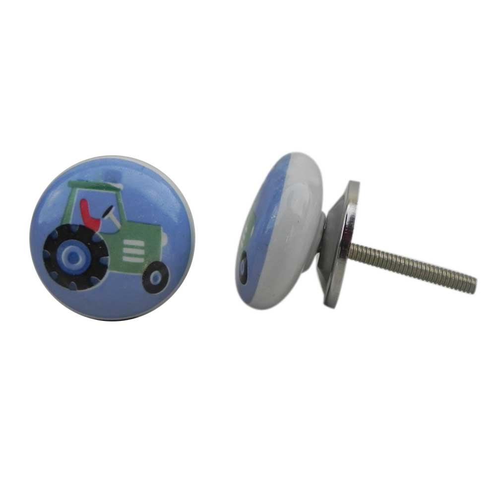 Tractor Ceramic Knob (1)