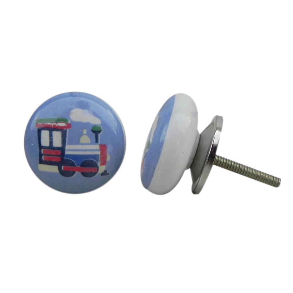 Train Flat Ceramic Knob (1)