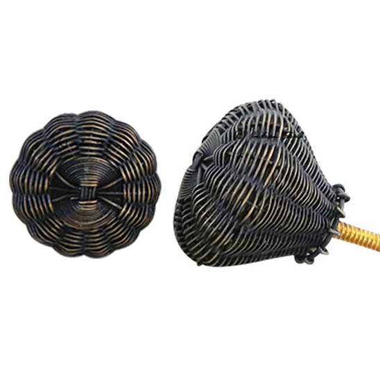 Antique Brass Wire Knobs