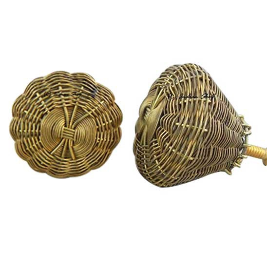 Golden Brass Wire Knobs