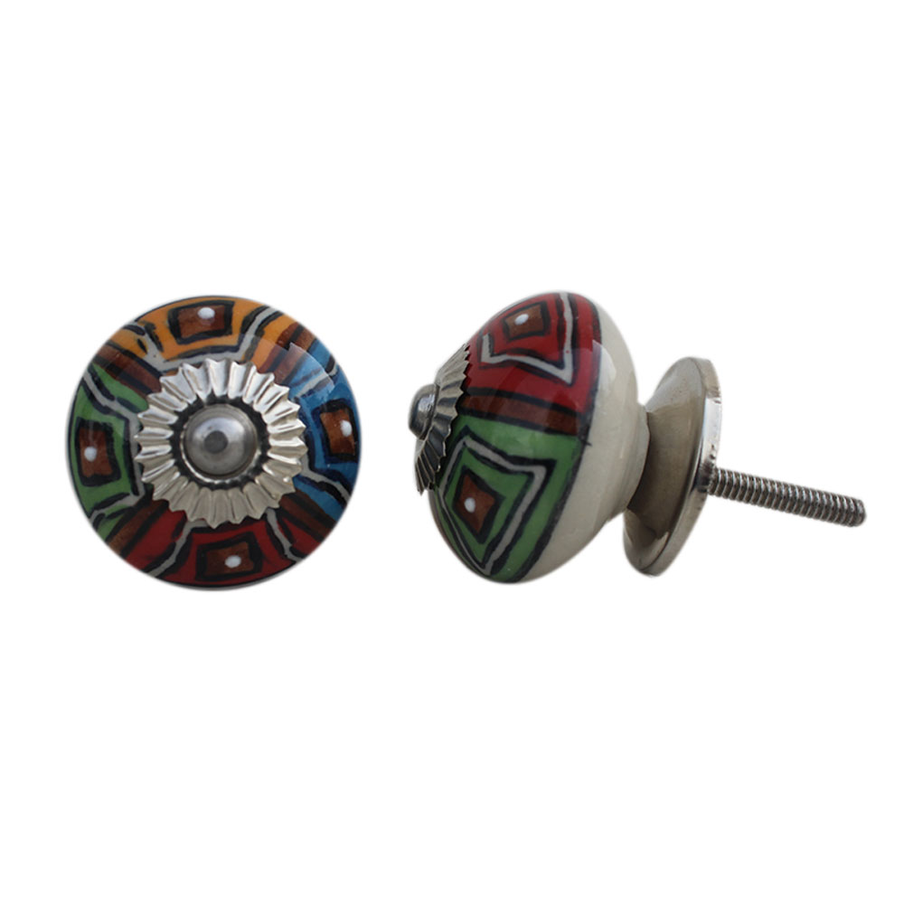 Mixed Wheel Round Drawer Knob