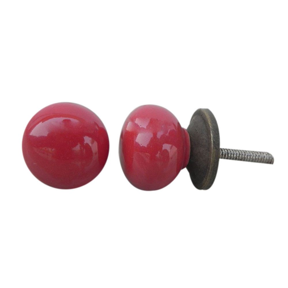 Blood Red Small Knob