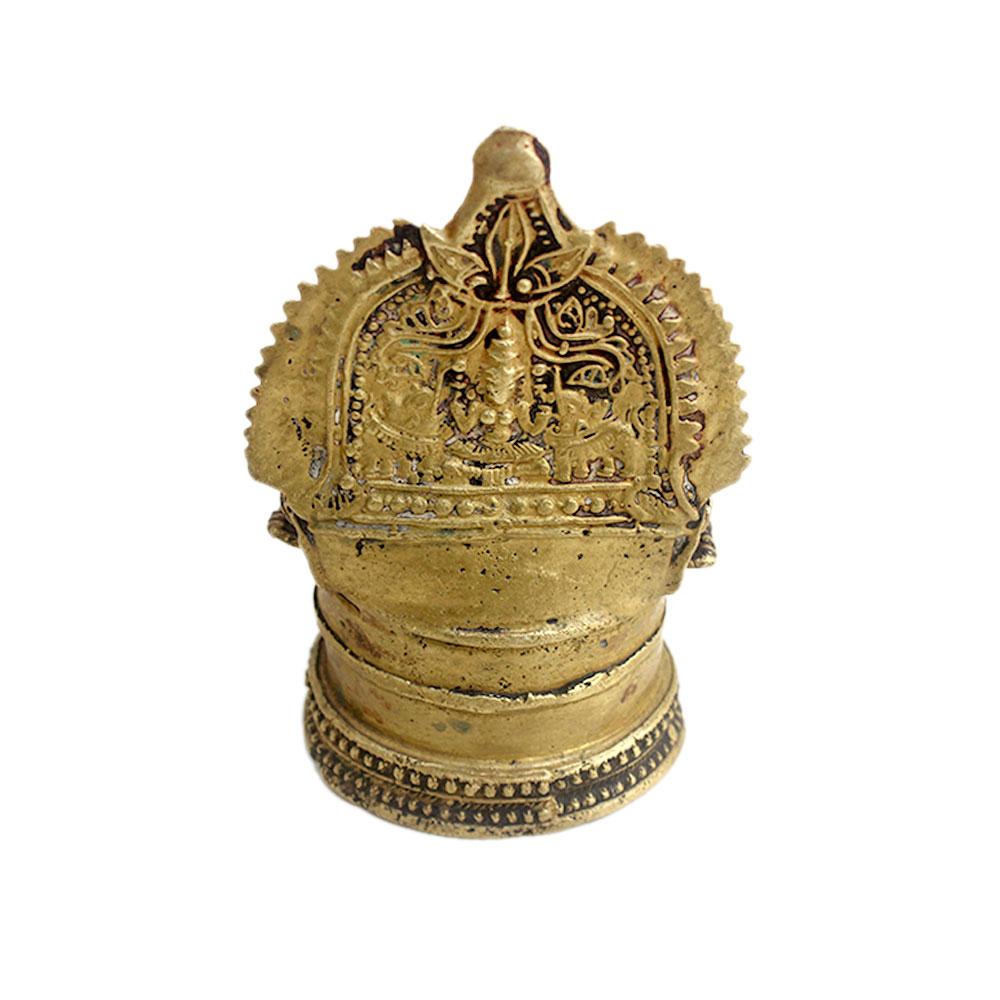 Laxmi Brass Oil Lamp (Ht-5.5 Inches)