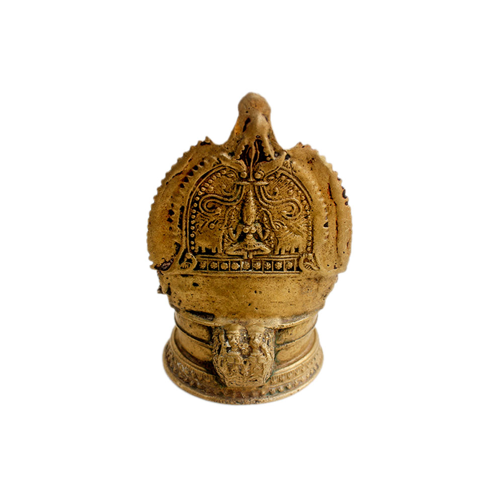 Laxmi Brass Oil Lamp (Ht -5.75 Inches)