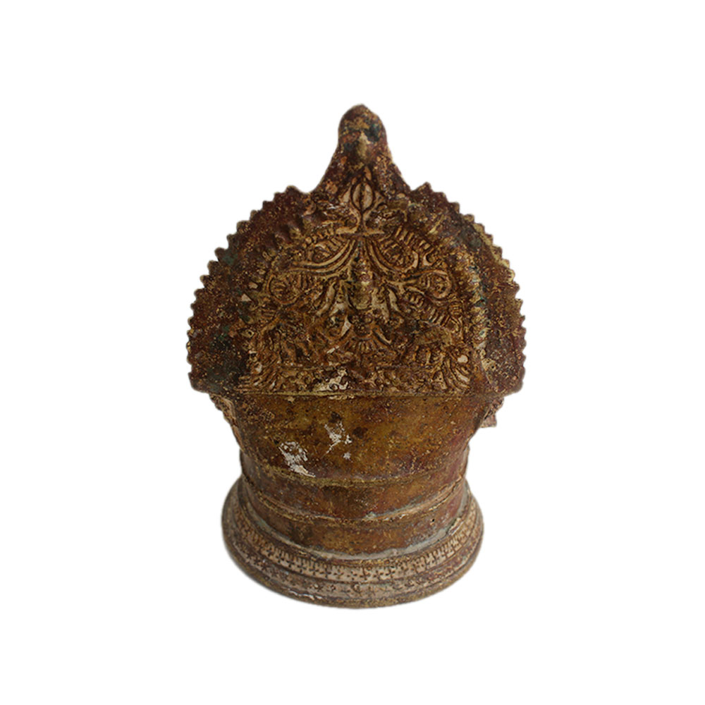 Laxmi Brass Oil Lamp (Ht -5.6 Inches)