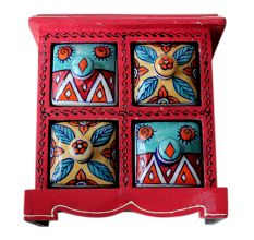 Spice Box-518 Masala Rack Container Gift Item