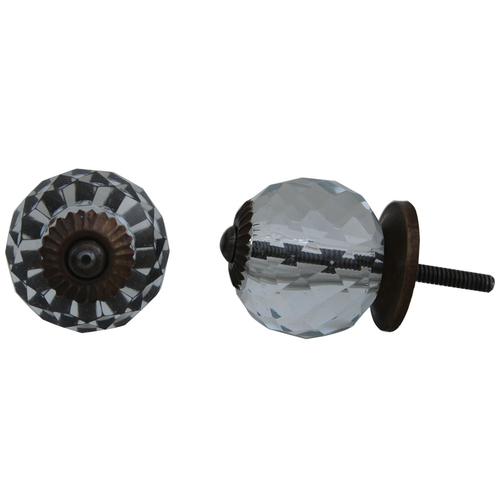 Beehive Glass Knobs Online
