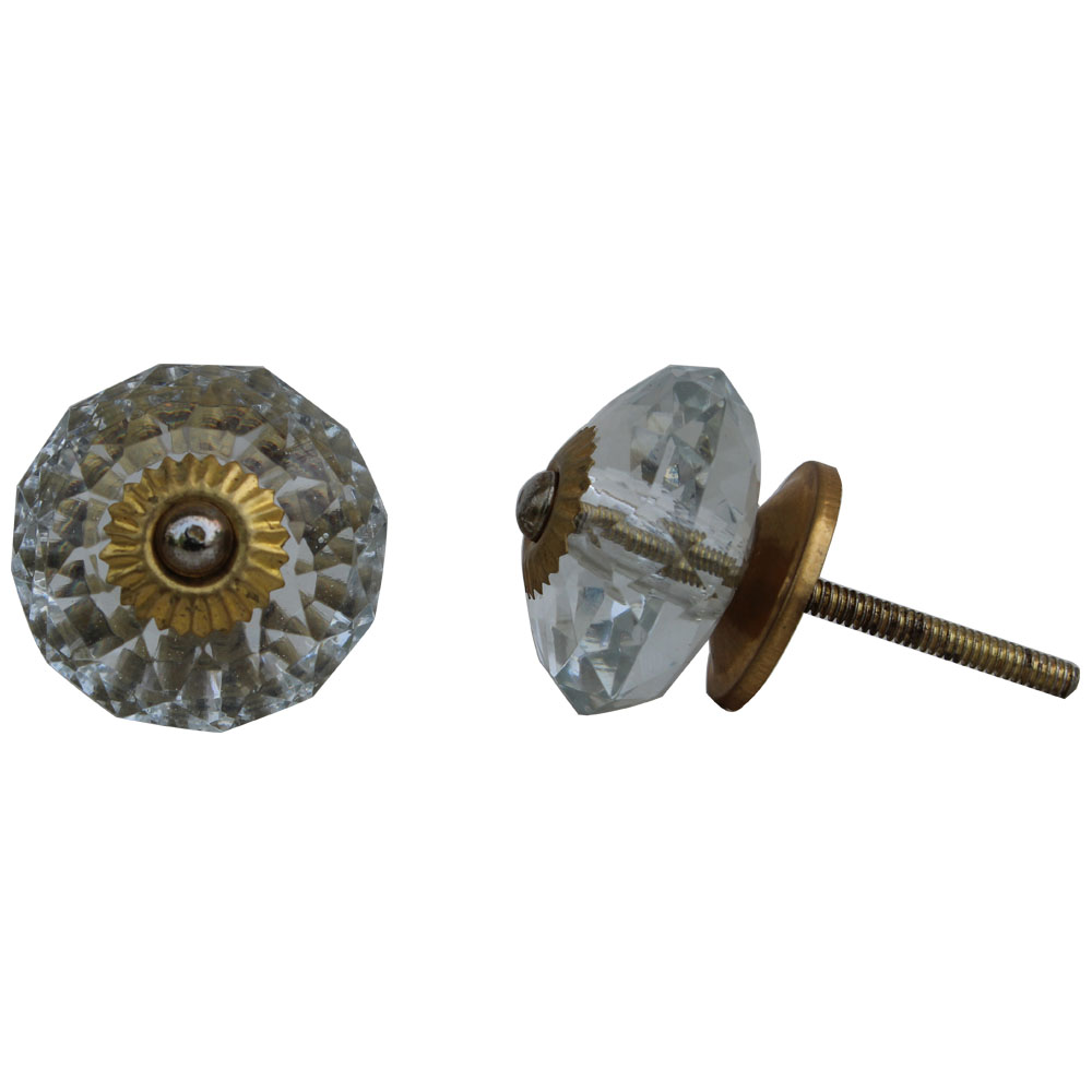 Clear Radiant Cabinet Knobs Online