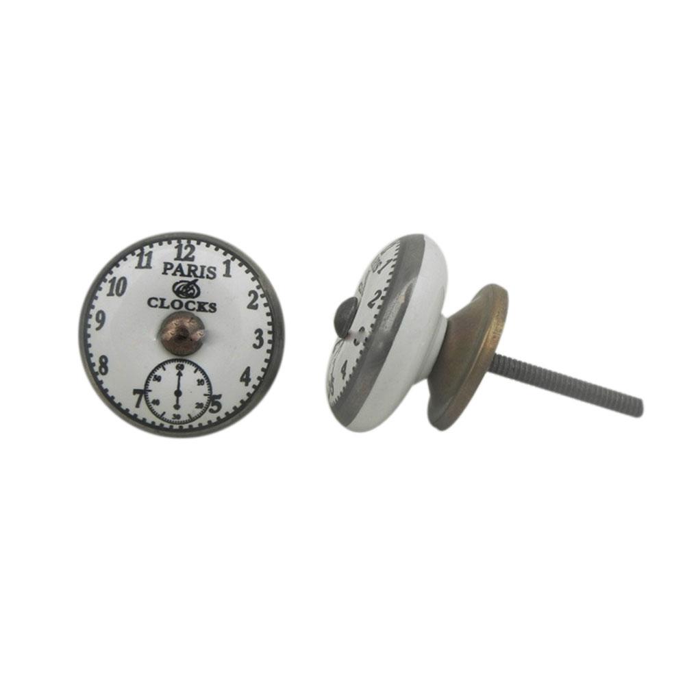 Paris Clocks Big Knob