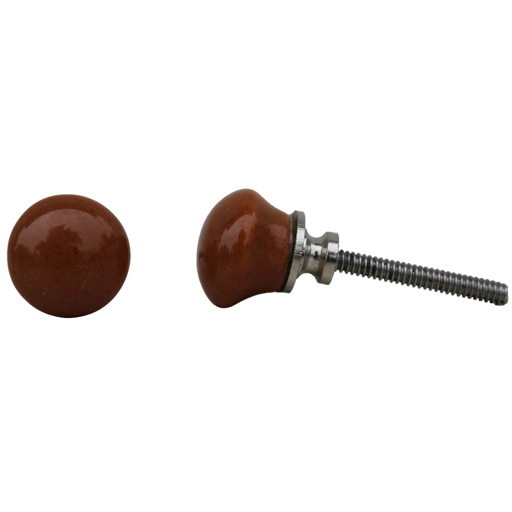 Dark Brown Tiny Knob