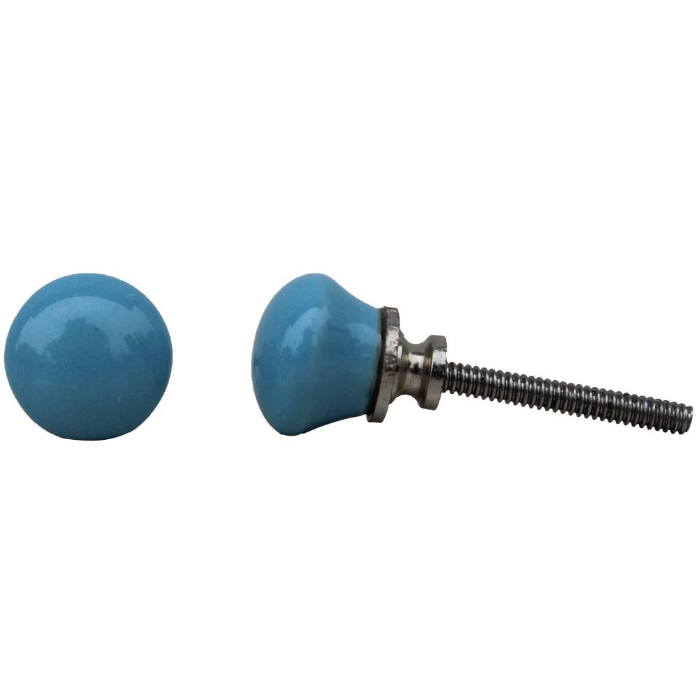 Turquoise Tiny Knob