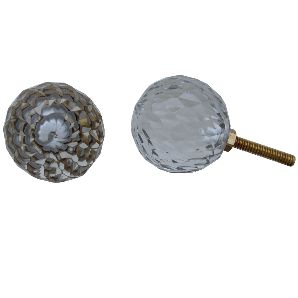 Clear Glass Dome Drawer Knobs Online