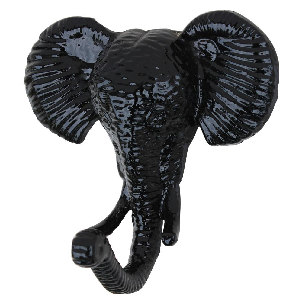 Black Elephant Hooks