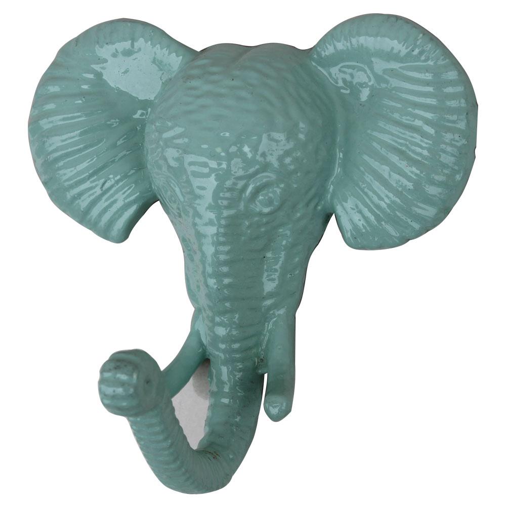 Sage Green Elephant Hooks